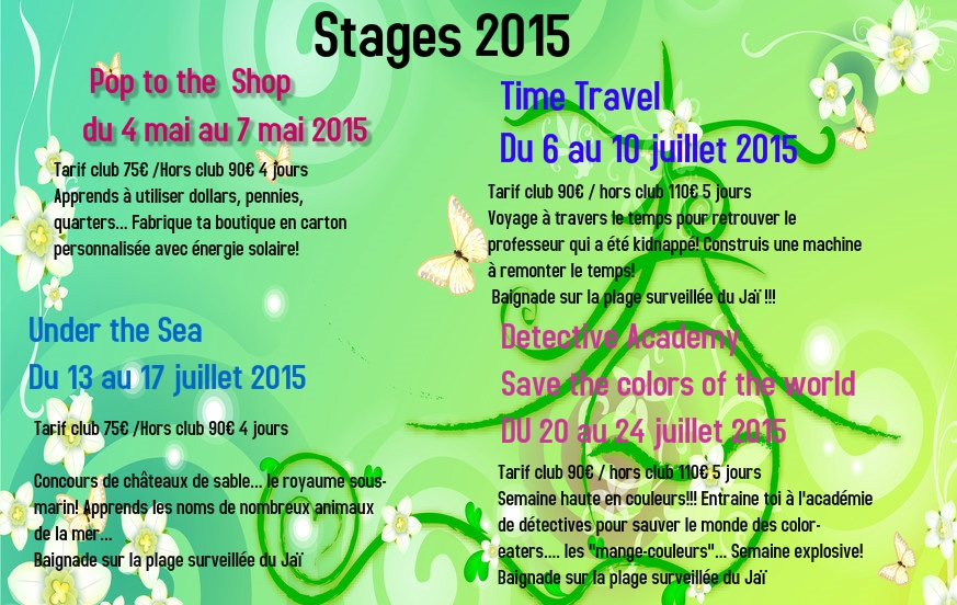 Poster from postermywall stages 2015
